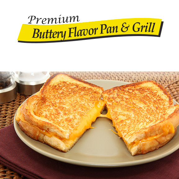 buttery flavor pan and grill vegetable oil
