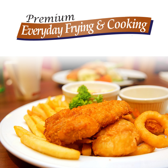 everyday frying and cooking vegetable oil
