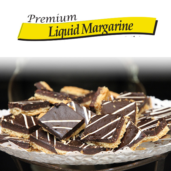 liquid margarine vegetable oil