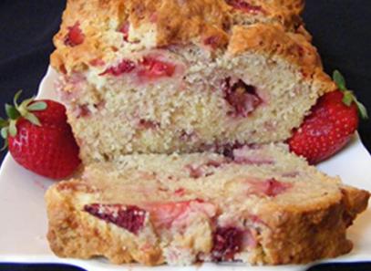 Desserts Strawberry Bread
