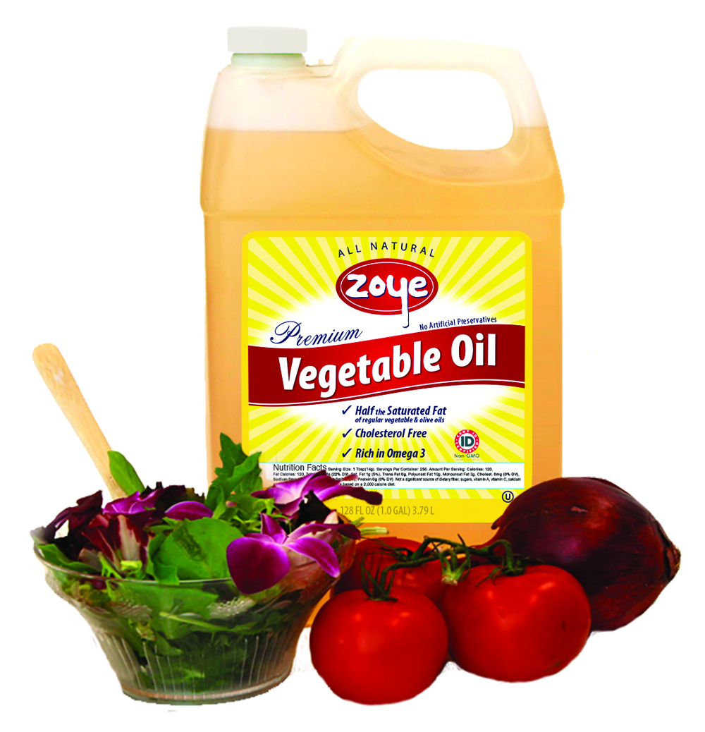 Zoye Premium Vegetable Oil 1 Gallon