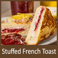 But-R-Lite Strawberry Stuffed French Toast