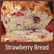 Zoye Strawberry Bread