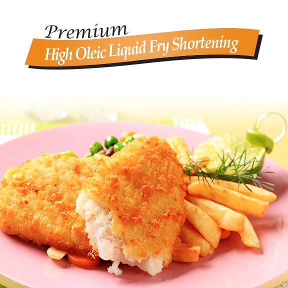 high oleic liquid fry shortening vegetable oil