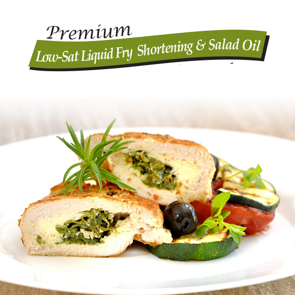 low sat liquid fry shortening vegetable oil