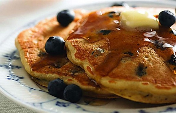 Soy Berry Pancakes